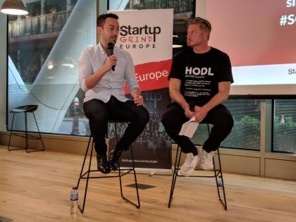 Voted Business Insider's Coolest Investor - Simon Cook of Draper Esprit at Startup Grind London
