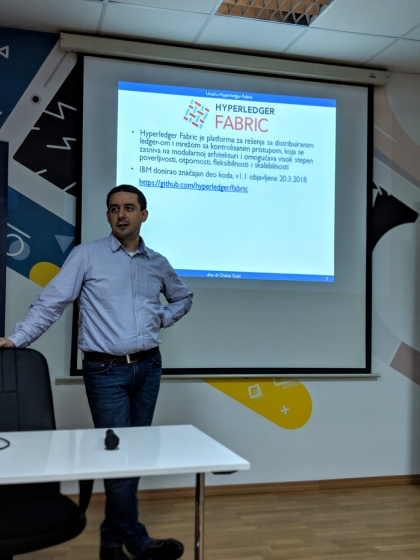 Co-founder of RealMarket to Teach The first Hyperledger blockchain university course in Europe