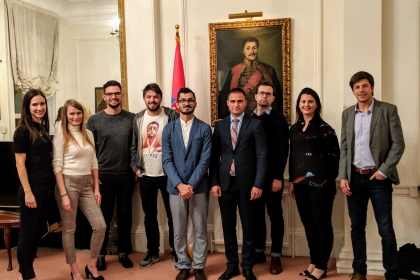 Launching the London chapter of Serbian Entrepreneurs