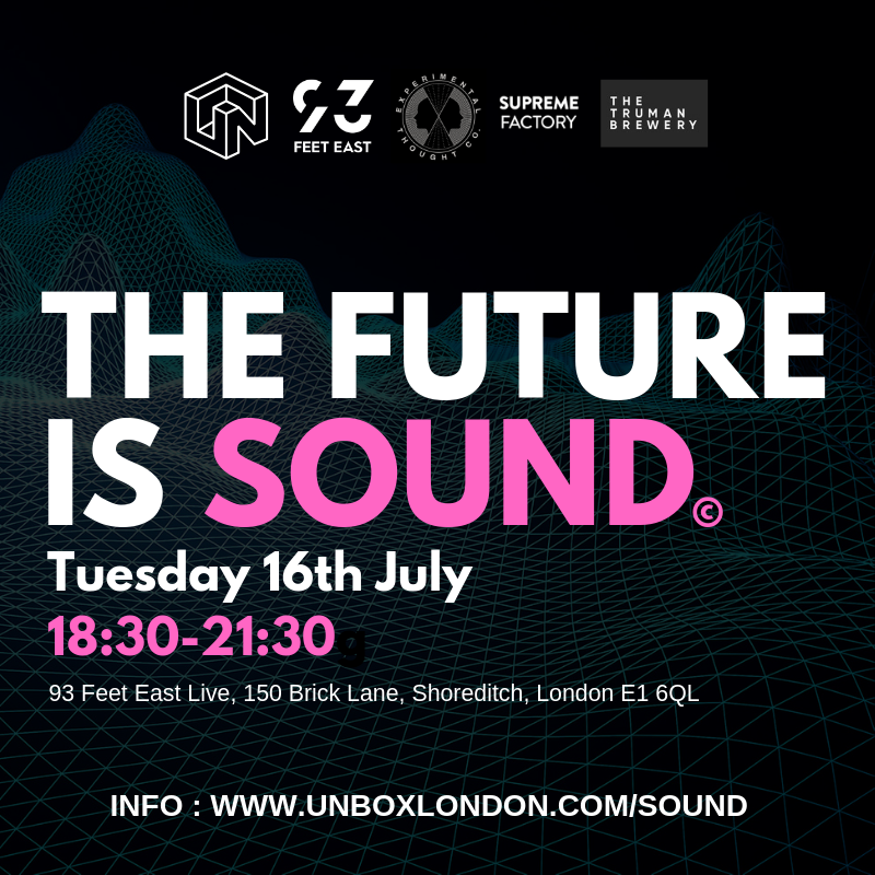 unbox london the future is sound