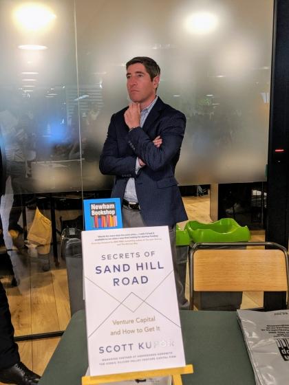 LIVE: Secrets of Sand Hill Road by Managing Partner of Andreessen Horowitz: Scott Kupor