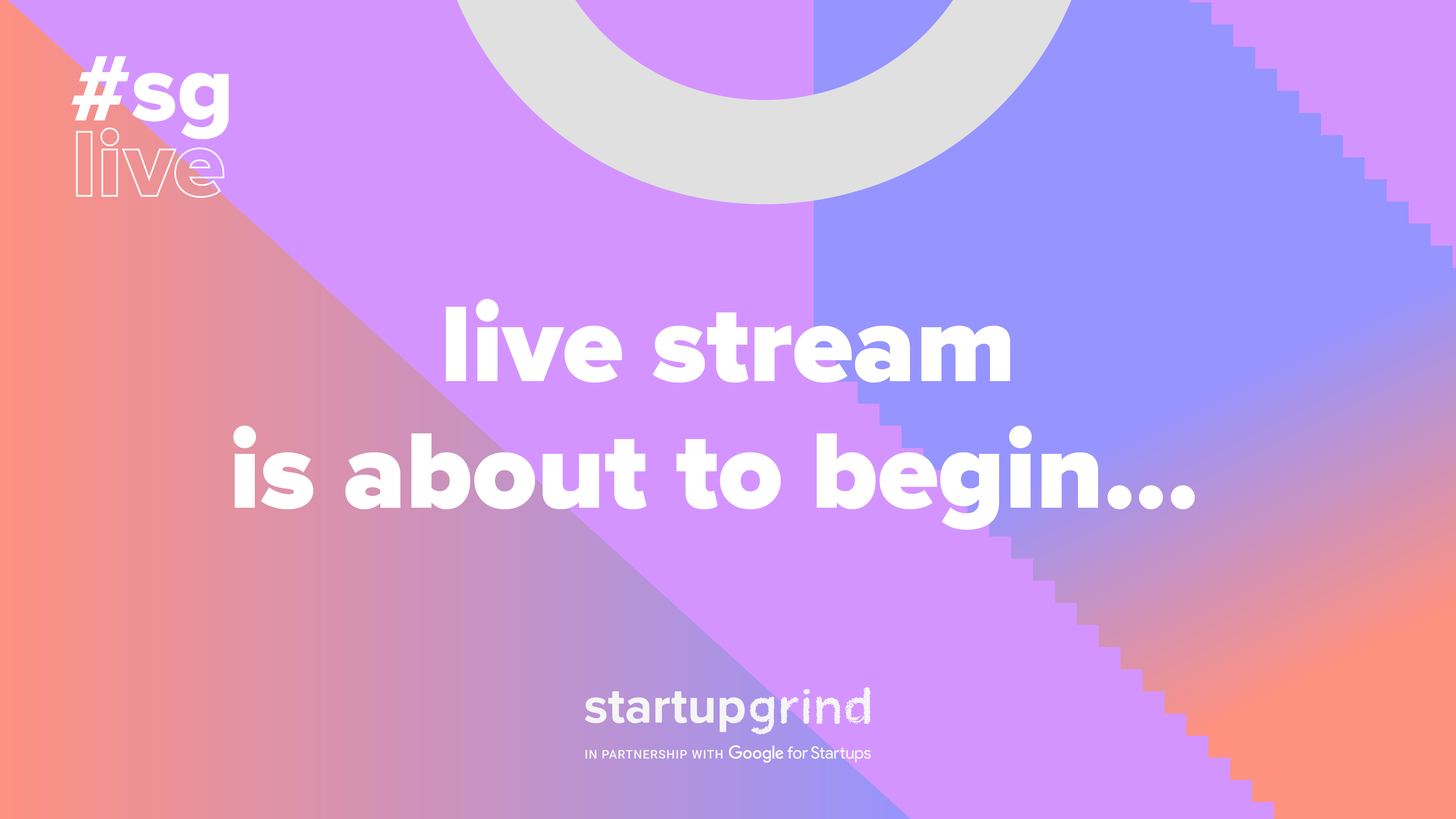 Join us for a LIVE Fireside Chat from Startup Grind London with Scott Kupor from Andreessen Horowitz and Thorold Barker from The Wall Street Journal.