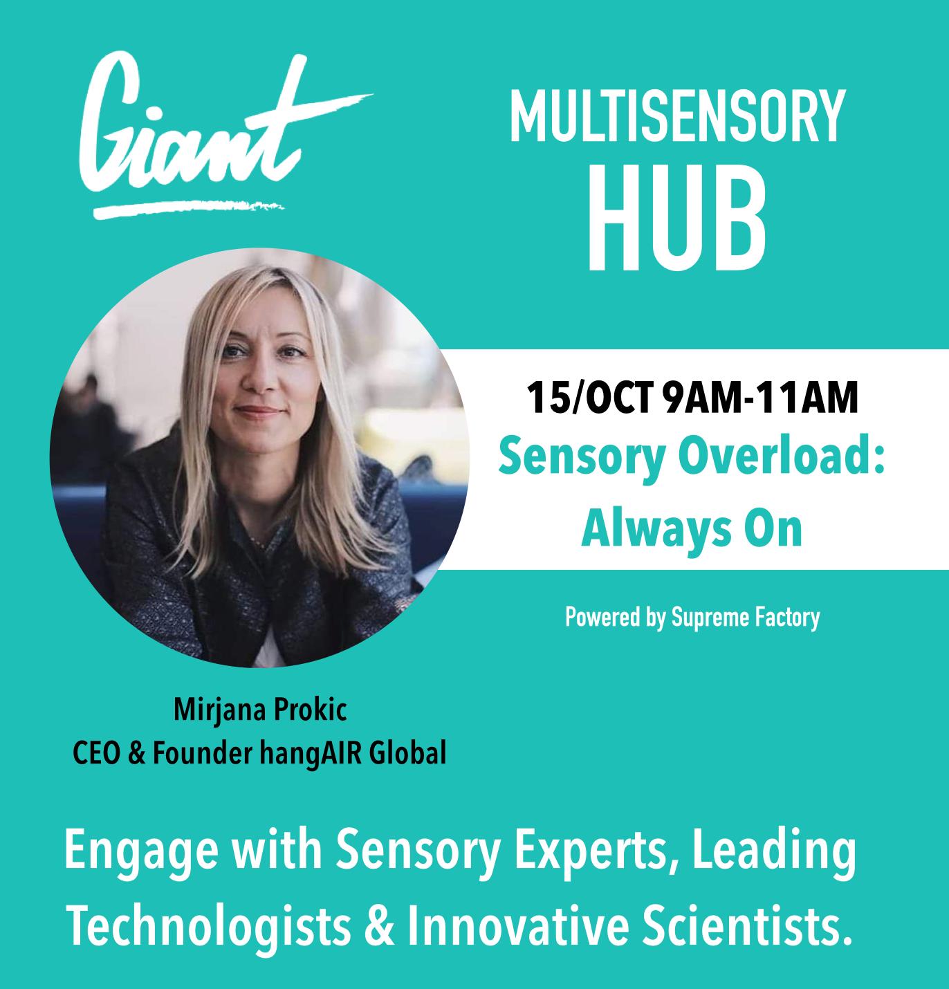 Mirjana Prokic, HealthTech Entrepreneur CEO & Founder HangAir Global