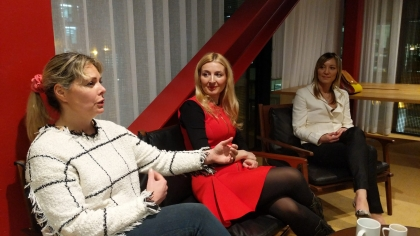 Powerful Blondes Serbian Entrepreneurs London