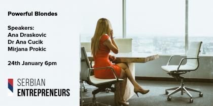 Powerful Blonds Serbian Entrepreneurs