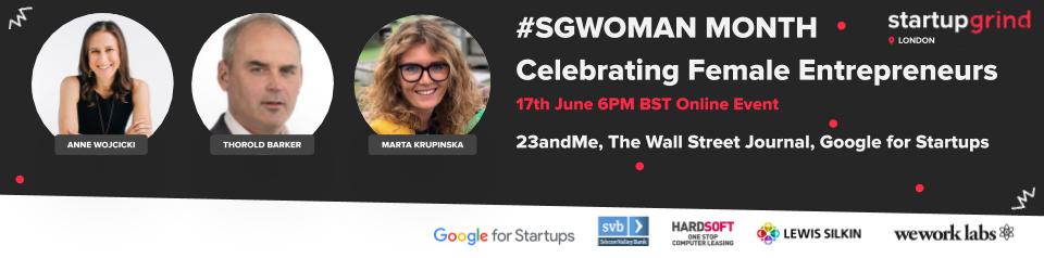 Celebrating Female Entrepreneurship: Anne Wojcicki, 23andMe and Thorold Barker, Wall Street Journal