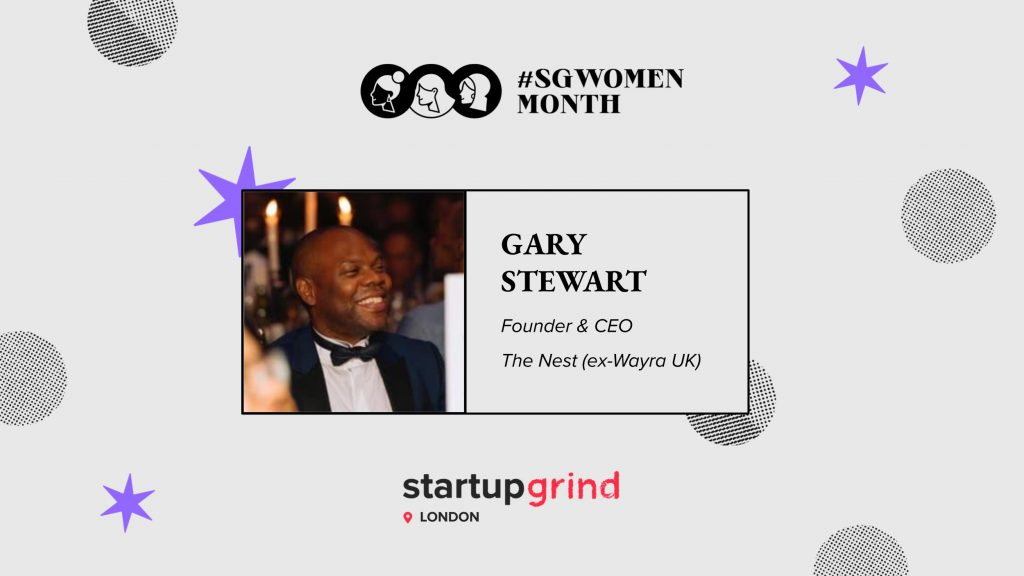 SGWomen London Gary Stewart , Diversity in Tech #blacklivesmatter