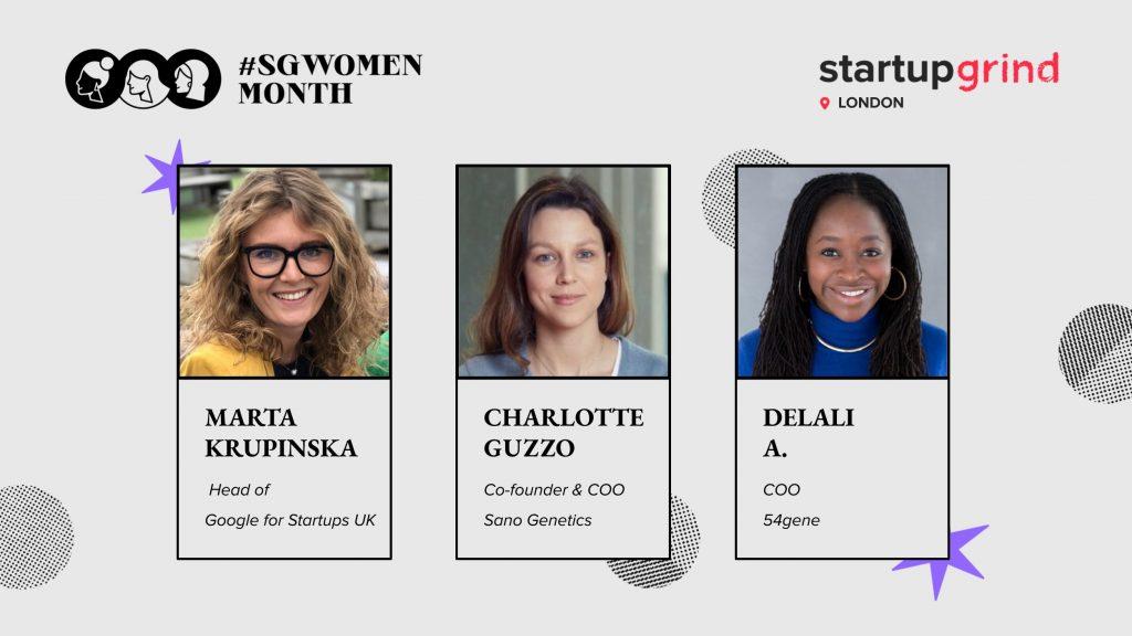SGWomen London Google for Startups