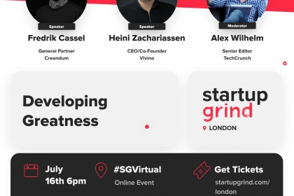 Disrupting wine, music and VC with Creandum, Vivino and TechCrunch
