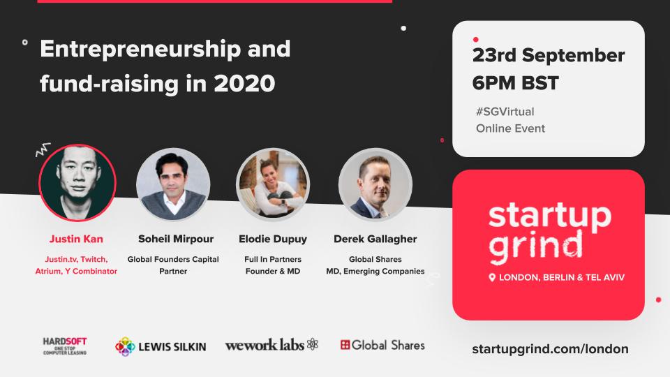 Entrepreneurship and fundraising in 2020