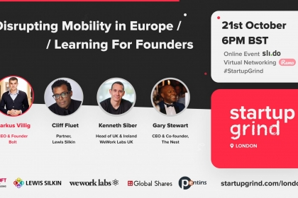 As a part of Black Leaders Month, Startup Grind London hosted a panel discussion about
