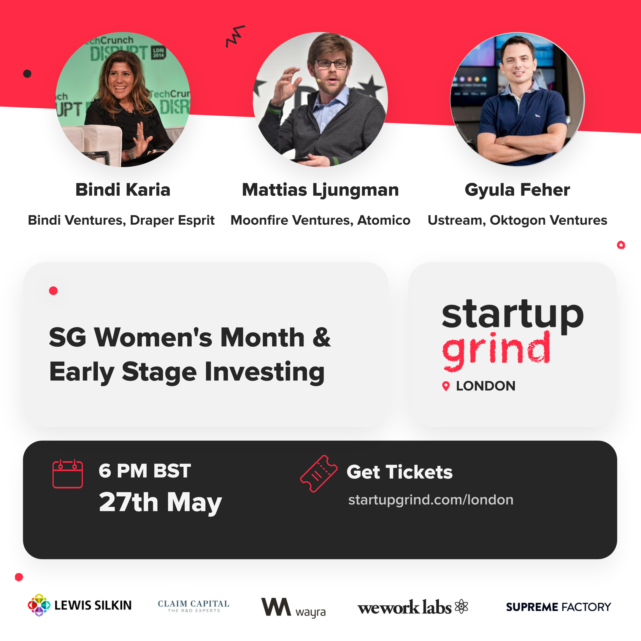 SG Womens Month and Early Stage Investing landscape